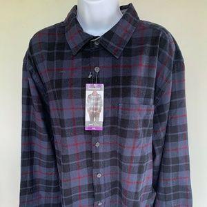 Eddie Bauer Bristol Flannel Plaid Shirt XXL